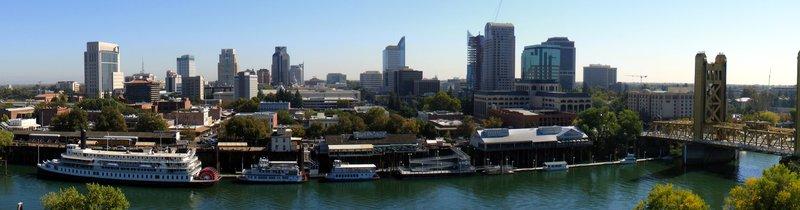 Sacramento Skyline, Photo Credit: J. Smith